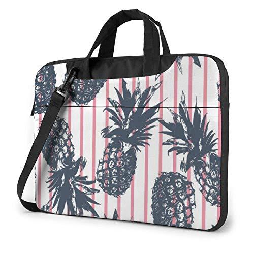 Tropical Plants Pineapple Funnny 15.6 in Laptop Bag Anti-Collision Notebook Computer Protective Cover Handbag Shoulder Bag