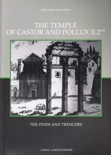 The Temple of Castor and Pollux II,2: The Finds (Occasional Papers of the Nordic Institute in Rome) (Italian Edition)
