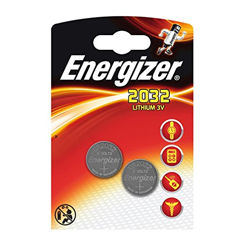 80 x Energizer CR2032 Coin Battery Batteries Lithium 3V for Watches Torches Keys