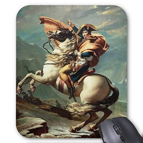 Muismat, Gaming Mouse Pad Grote Grootte 300x250x3mm Dikke Napoleon Bonaparte Te Paard Verlengde Muis Pad Antislip Rubber