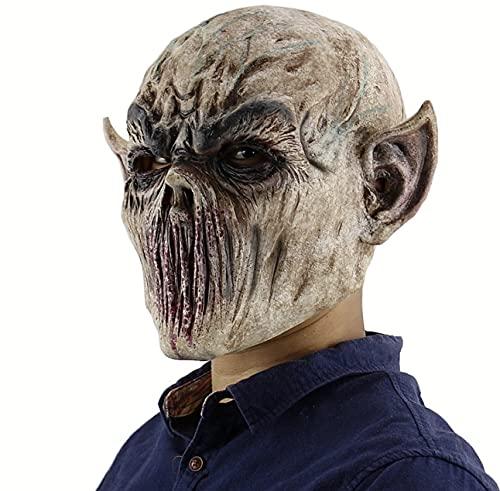 BDTOT Máscara de Halloween Accesorios de decoración Espeluznante de Fiesta de Disfraces de Halloween Máscara De Miedo De Halloween Máscara para Halloween Sombrero De Terror