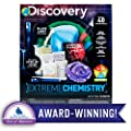 Discovery Extreme Chemistry Stem Science Kit by Horizon Group Usa, 40 Fun Experiments, Make Your Own Crystals, DIY Glowing Slime, Fizzy Eruptions, Gooey Worms & More, Multicolor from Horizon Group