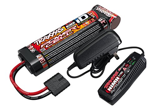 Traxxas Battery/Charger Completer Flat Pack with 2-amp Fast Charger and 8.4V NiMH Battery