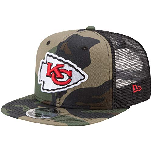 New Era 9Fifty Mesh Snapback Cap Kansas City Chiefs Wood