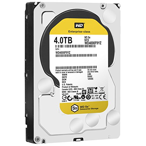 Western Digital WD4000F9YZ - WD SE 4TB 3.5 SATA 7200 RPM HDD