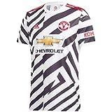 adidas Manchester United Third - Camiseta de fútbol para hombre, talla 2020/21