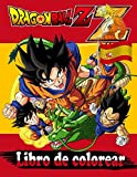 Dragon Ball Z Libro de colorear: Dragon Ball Libro de colorear para niños y adultos: ¡Goku, Vegeta, Krillin, Maestro Roshi y muchos más!