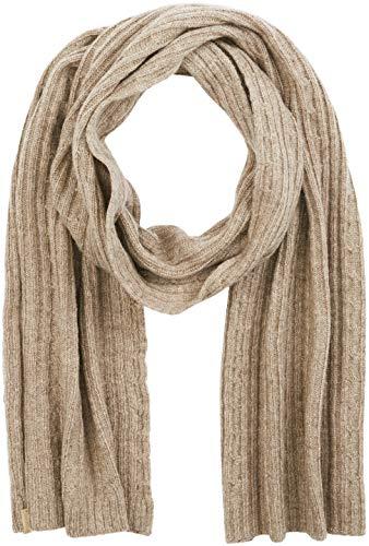 GANT Damen O2. Cable Knit Scarf Schal, Braun (Desert Brown), One size