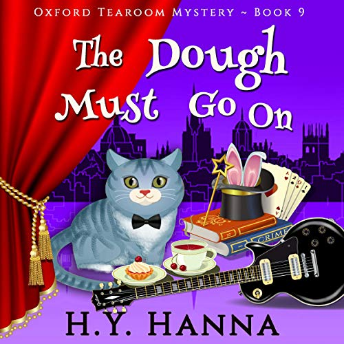 The Dough Must Go On  audiobook cover art