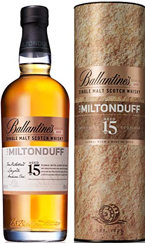 Ballantine's THE MILTONDUFF 15 Years Old Single Malt Scotch Whisky mit Geschenkverpackung (1 x 0.7 l)