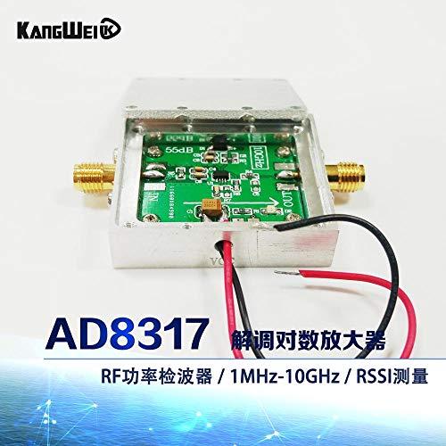 Logarithmischer Verstärker AD8317 Modul HF-Leistungsdetektor 1M-10GHz HF-Leistungsmesser
