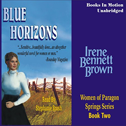 Blue Horizons audiobook cover art