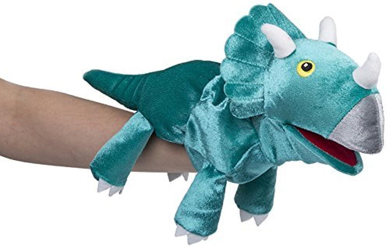 Fiesta Crafts Triceratops Hand Puppet by Fiesta Crafts