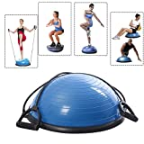 ARLISA Limited Edition Yoga Half Ball Dome Balance Trainer Fitness Strength Exercise Workout with...