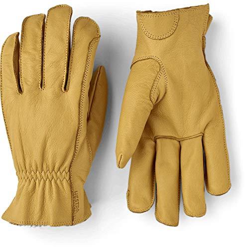 HESTRA Dakota 5-Finger Handschuhe tan Handschuhgröße 7 2021 Outdoor Handschuhe