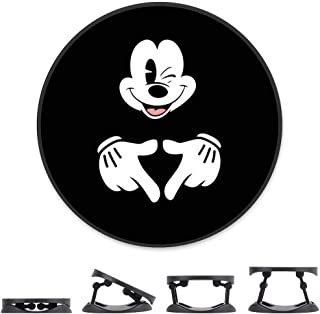 DISNEY COLLECTION Cell Phone Finger Stand Holder Love Mickey Mouse Grip Foldable Expanding Kickstand Phone Mount Compatible All Tablets and Smartphones