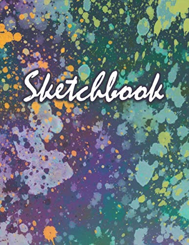 Sketchbook: a Sketchpad with blank pages to doodles, scribbles, journaling, sketching and drawing!
