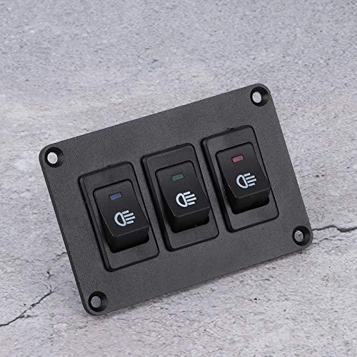 Bediffer Interruptor de Palanca LED de plástico + Metal Superior Panel de Encendido de Palanca Interruptor de Coche de Carreras Profesional para su vehículo