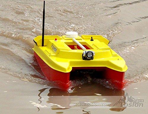 HYZ-842 80X49X28CM Control Remoto R/C a 500 Metros de Alta Velocidad de la Carpa de la Pesca de Cebo Vivo de la Capacidad: 8kg con Toslon TF640 GPS buscador de los Pescados del Sonar