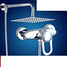 Bronze Bath Shower Mixer/Bath Faucet Hot and Cold Water Mixing Valve/Nozzle Shower Head Kit-H