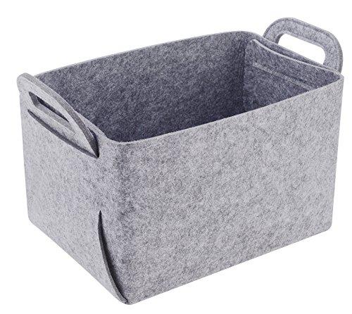 Best felt basket gray for 2020