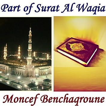 Part of Surat Al Waqia (Quran)