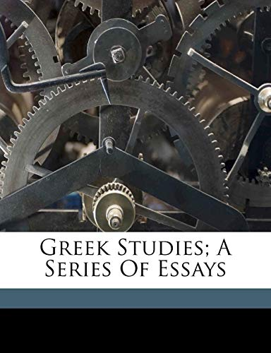 Greek Studies; A Series of Essaysの詳細を見る