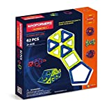 Magformers Classic Set (62-Pieces) Magnetic    Building      Blocks, Educational  Magnetic    Tiles Kit , Magnetic    Construction  STEM Set