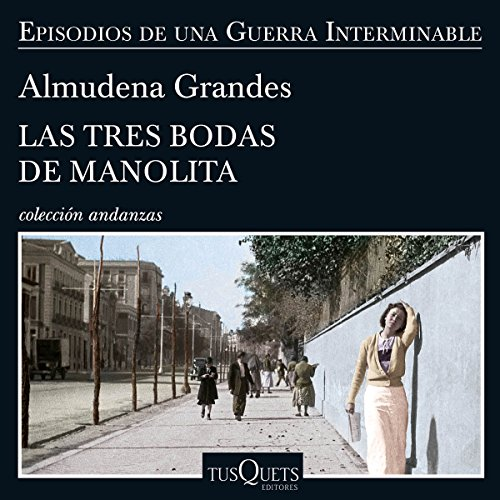 Las tres bodas de Manolita audiobook cover art