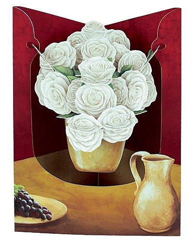 Carte Santoro Graphics Vase DE ROSES-SC124