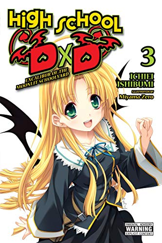 High School DxD, Vol. 3 (light novel): Excalibur of the Moonlit Schoolyard (High School Dxd Vol 1 Light No)