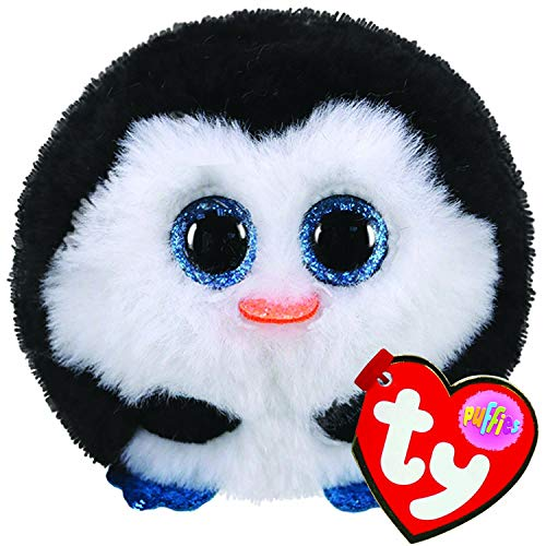 Ty Puffies-Waddles Penguin- Super Cute Plush Puff Balls. They Always Land on Their feet! Collect Them All!