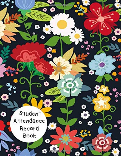 Student Attendance Record Book: 3 in 1 Large Two Page Spread Undated 30 Students Log Book for Teachers.