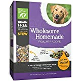 Only Natural Pet Wholesome Homemade Stew Dehydrated Dog Food - Human Grade Formula That Contains Real Wholesome Nutrition, Low Glycemic, Non-GMO - Poultry Recipe 6 lb Box (Makes 18 lbs of Food)
