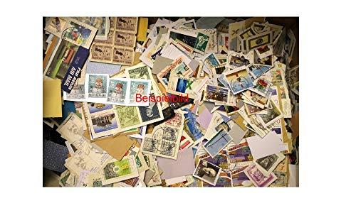 Robbert´s Briefmarken Kiloware, 400g Missionsware, wie gespendet auf Papier, gestempelt