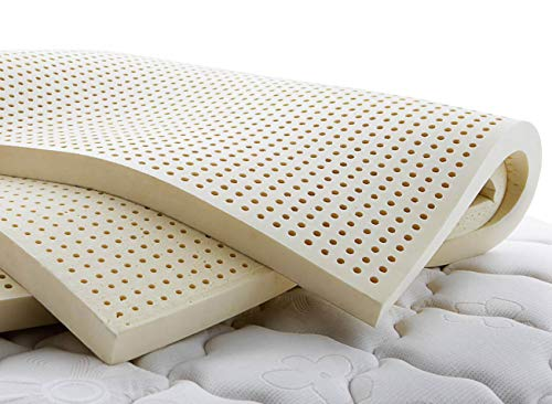 Vytex 100% Natural Latex Topper Super Soft - King 1.5' Inch Collection The Only Virtually Allergy Free Latex - Super Soft - King 1.5' Inch Equivalent to 14 ILD