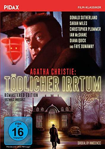 Agatha Christie: Tödlicher Irrtum - Remastered Edition (Ordeal by Innocence) / Agatha Christies persönlicher Lieblingsroman verfilmt mit Starbesetzung (Pidax Film-Klassiker)