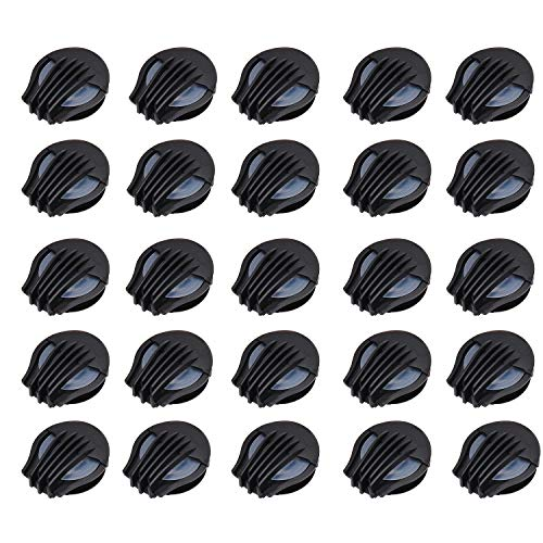 24 pcs Dustproof Mask Air Valves, Compact & Lightweight, Durable ABS Mask Accessories for Most Kind of Double Air Breathing valve mask
