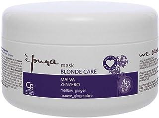 È Pura - Maschera Blonde Care - Trattamento Professionale Intensivo Antigiallo per Capelli Biondi e con Meches - 300 ml