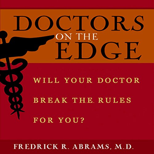 Doctors on the Edge audiobook cover art