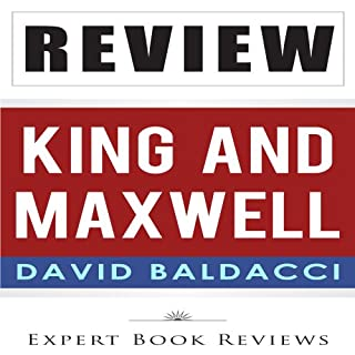 Review: David Baldacci's King & Maxwell audiobook cover art