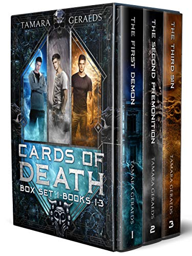 Cards of Death box set 1: a supernatural urban fantasy action adventure series (Cards of Death omnibus books 1-3) (English Edition)