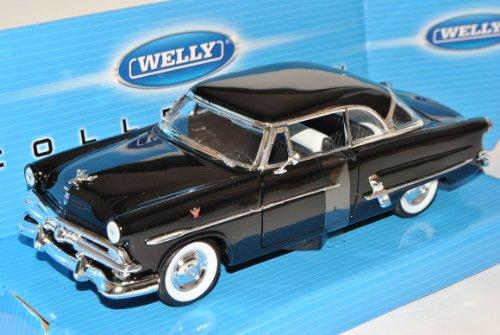 Welly Ford Crestline Victoria Coupe Negro 1953 1/24 Modelo Coche