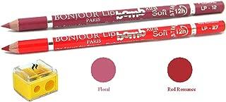 BONJOUR PARIS Coat Me Perfect Pout Lip Liner (Floral/Red Romance)