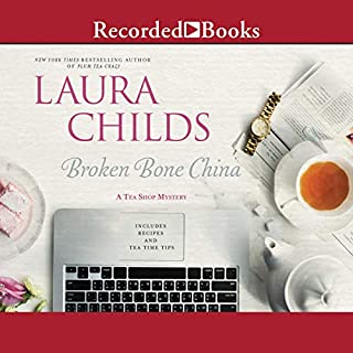 Broken Bone China audiobook cover art