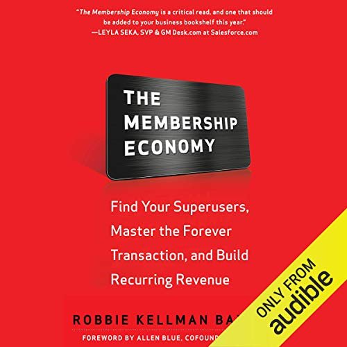 Page de couverture de The Membership Economy