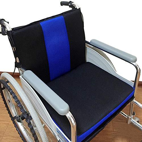 GHzzY rolstoel speciaal kussen voor rugsteun, ischias en rugpijn verlichting - zitkussen voor transportstoel & elektrische scooter