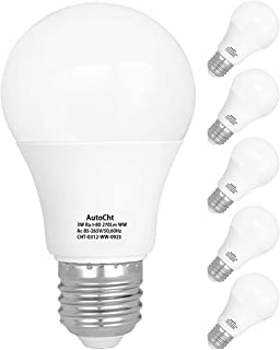 LED電球(3W) 25W相当 E26口金 電球色 3000K 270lm 室内照明用省エネ 一般電球形 PSE認証済み 広配光タイプ 6個セット