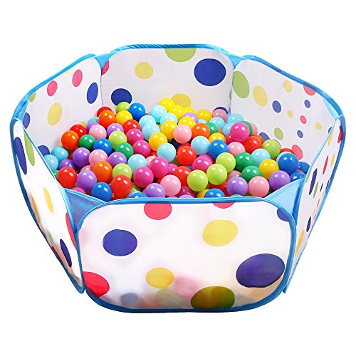EocuSun Kids Ball Pit Tent-Toddler Ball Pit Playpen with Zippered...