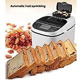 Estante fabricante de pan automático Fastbake Breadmakers compacta máquina de pan con el menú sin gluten 1Kg gran capacidad de tres colores quemados de Protección Ambiental de la Salud panificadoras d